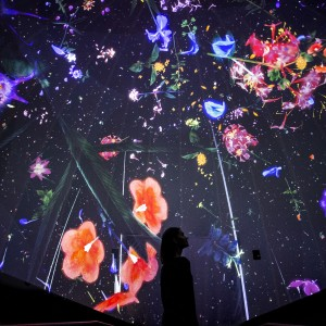 Story of the forest 1_ Image Courtesy of teamLab