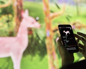 Story of the forest app 2_ Image Courtesy of teamLab
