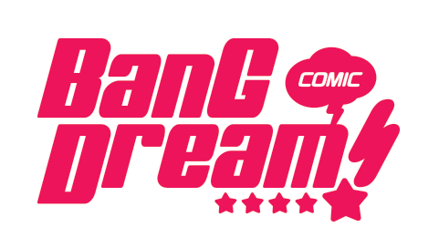 BanG Dream! English manga logo